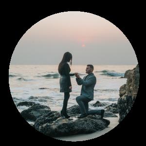 Demande en mariage, Agence Andromède, évènements privés, Wedding Planner, Event Planner, Bretagne, Morbihan, Vannes, Lorient, Quimper, Pontivy